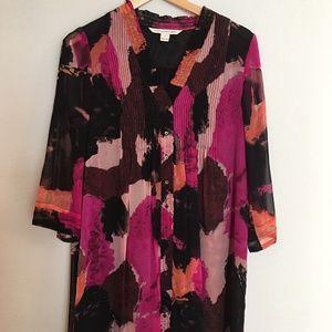 Silk Diane von Furstenburg tunic dress